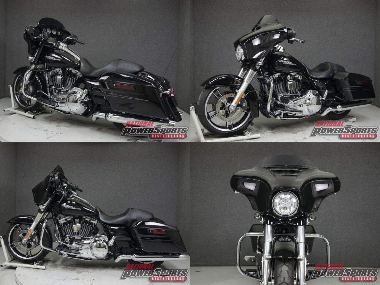 2015 Harley-Davidson Touring VIVID BLACK used for sale near me