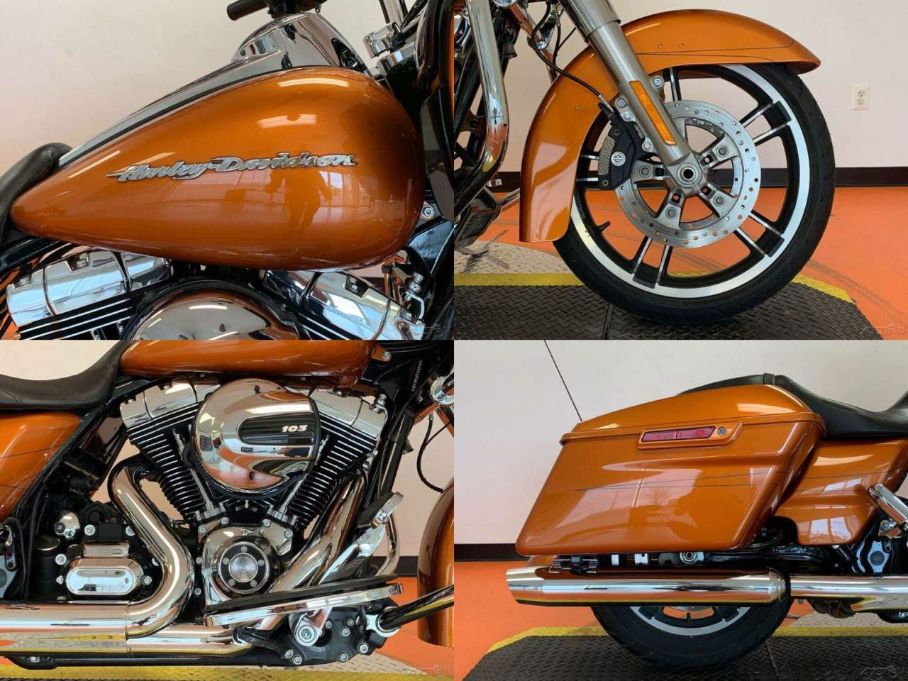 2015 Harley-Davidson Touring Amber Whiskey used for sale near me
