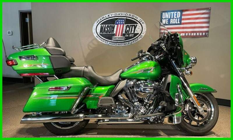 2015 Harley-Davidson Touring Electra Glide® Ultra Limited Radioactive Green used for sale near me