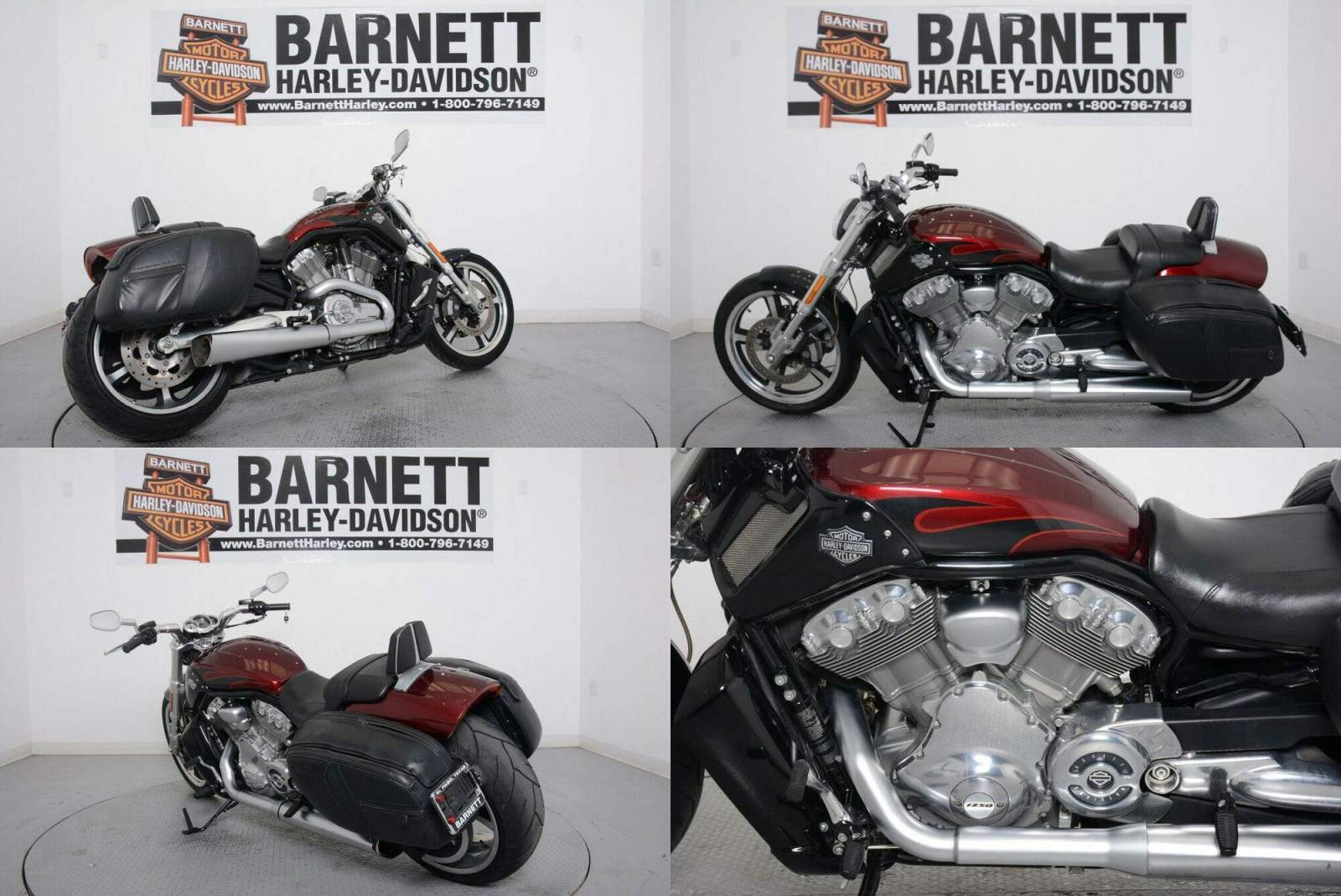 2015 Harley-Davidson V-Rod Muscle MYSTERIOUS RED used for sale