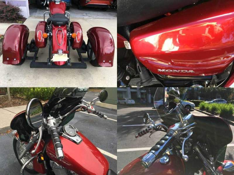 2015 Honda Aero V750cc Candy Prominence Red Tricoat R342C used for sale craigslist