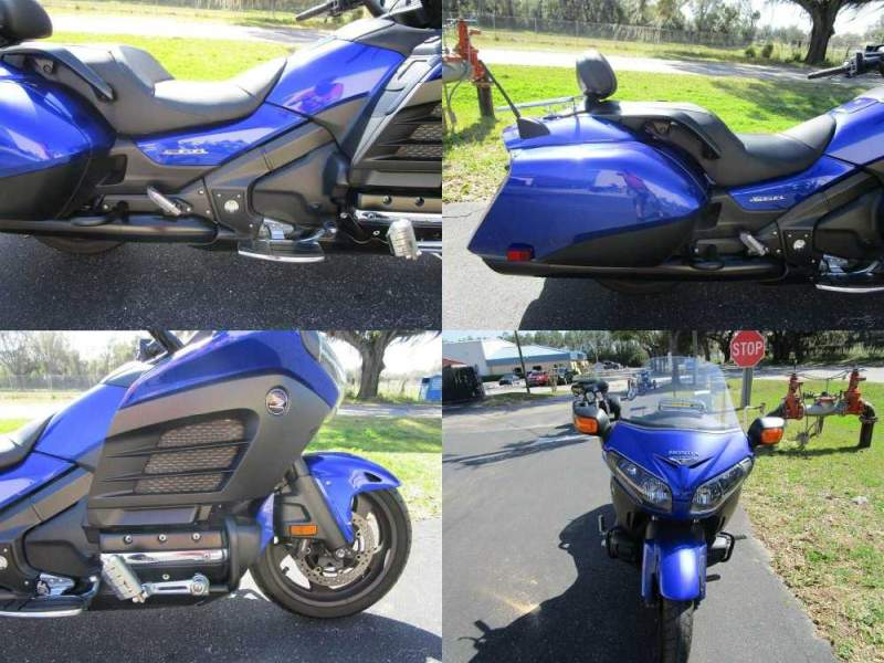 2015 Honda Gold Wing F6B Blue used for sale