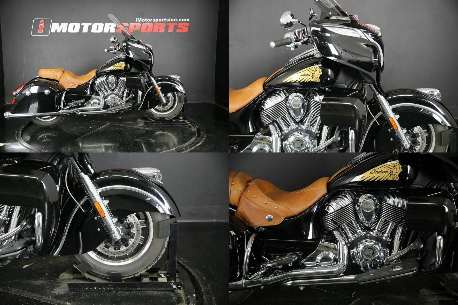 2015 Indian Chieftain Thunder Black -- used for sale craigslist