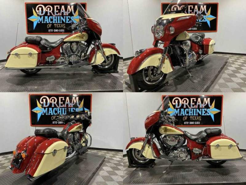 2015 Indian Chieftain Red used for sale near me