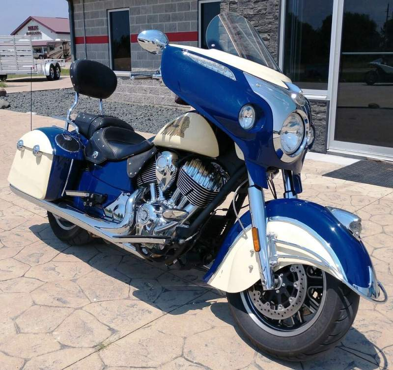 2015 Indian Chieftain® Blue used for sale near me