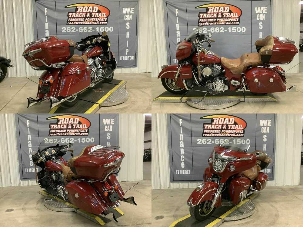 2015 Indian Roadmaster™ Indian Red Red used for sale craigslist
