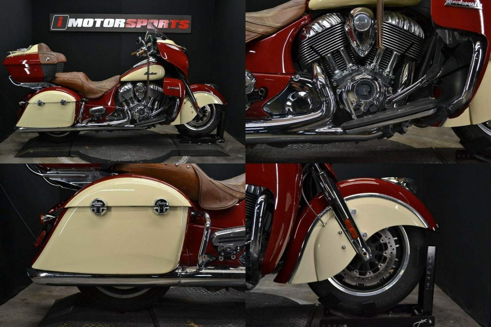 2015 Indian Roadmaster Indian Red/Ivory Cream Red used for sale craigslist