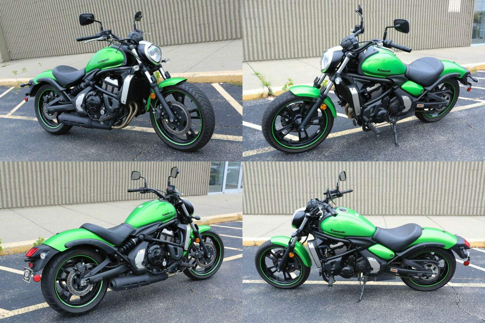 2015 Kawasaki VULCAN S 650 Green used for sale