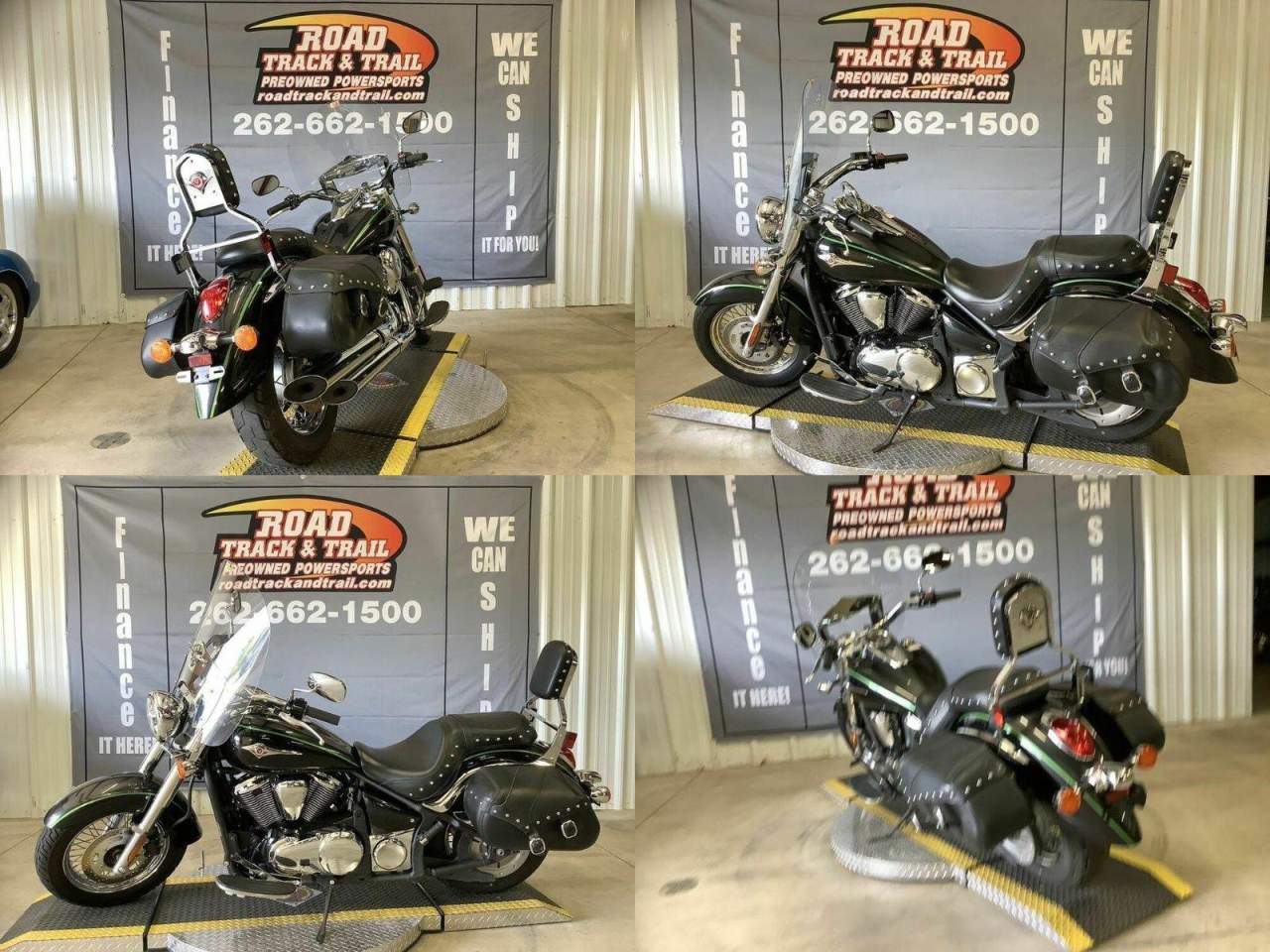 2015 Kawasaki Vulcan® 900 Classic LT Green used for sale near me