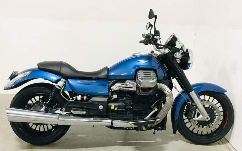 2015 Moto Guzzi California Blue used for sale craigslist