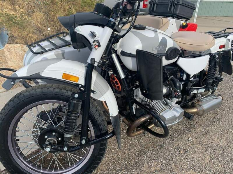 2015 Ural Ural gear up White used for sale near me