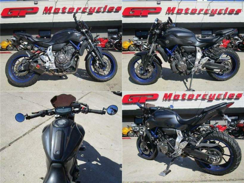 2015 Yamaha FZ-07 Gray used for sale