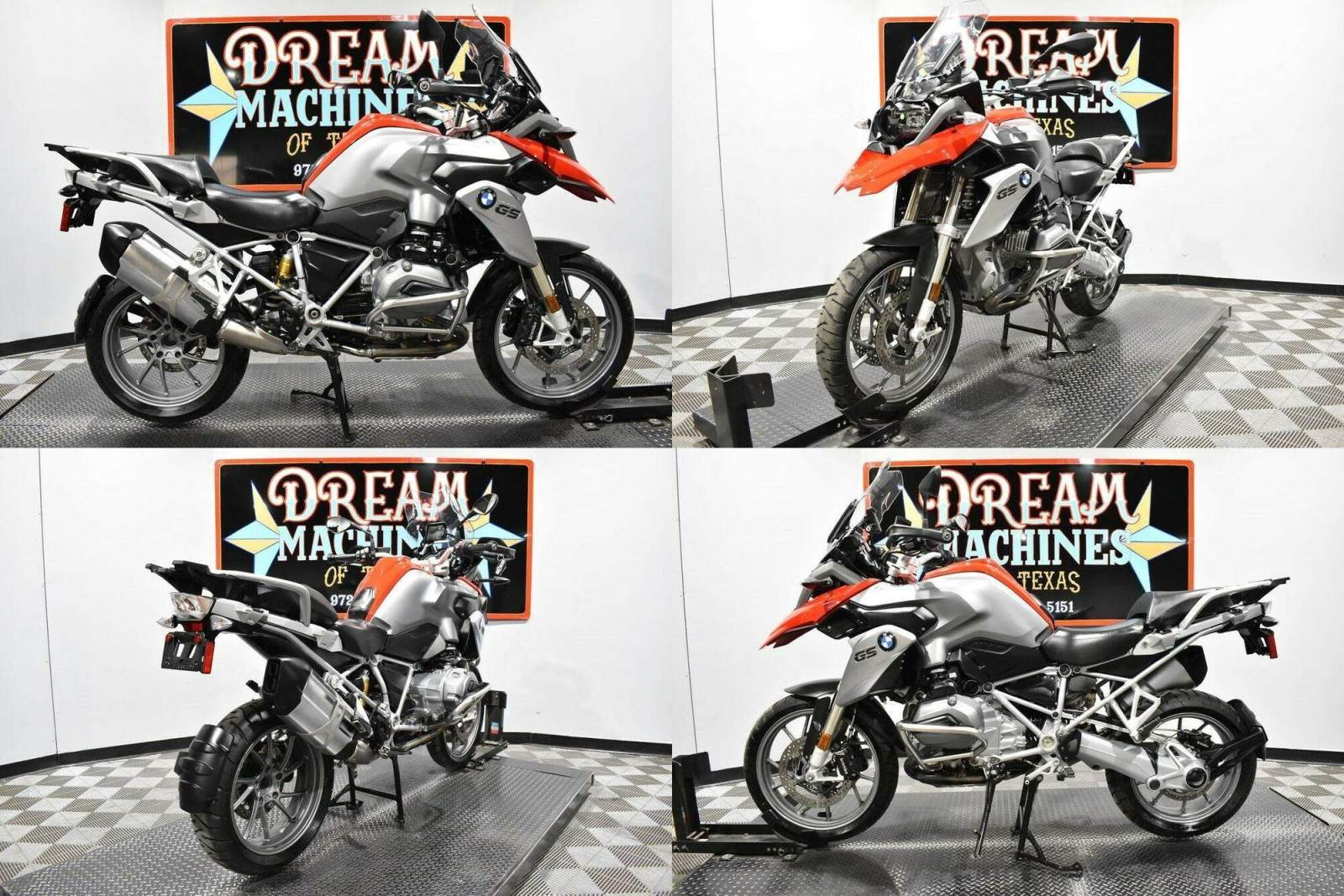 2016 BMW R 1200 GS Premium Red used for sale craigslist