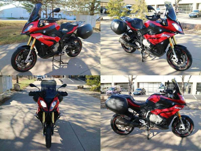2016 BMW S1000XR red used for sale