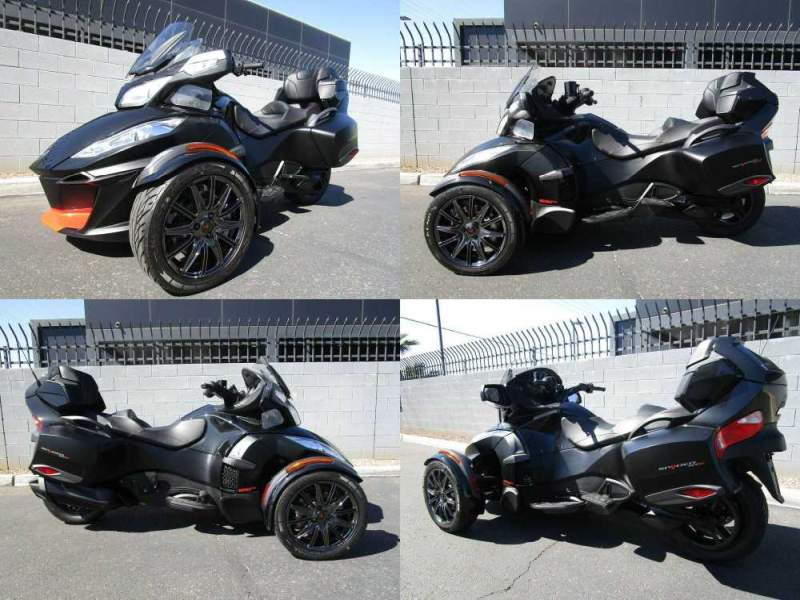 2016 Can-Am SPYDER RT-S Special Series SE6 Black used for sale