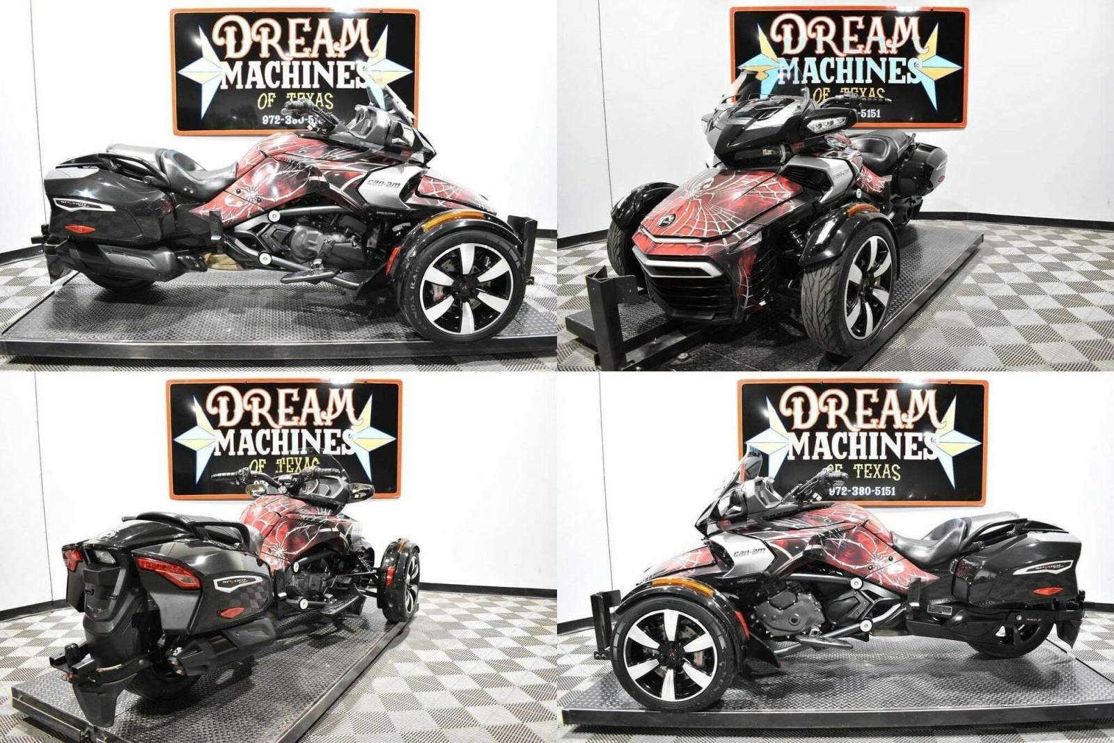 2016 Can-Am Spyder F3-T SE6 Black used for sale near me