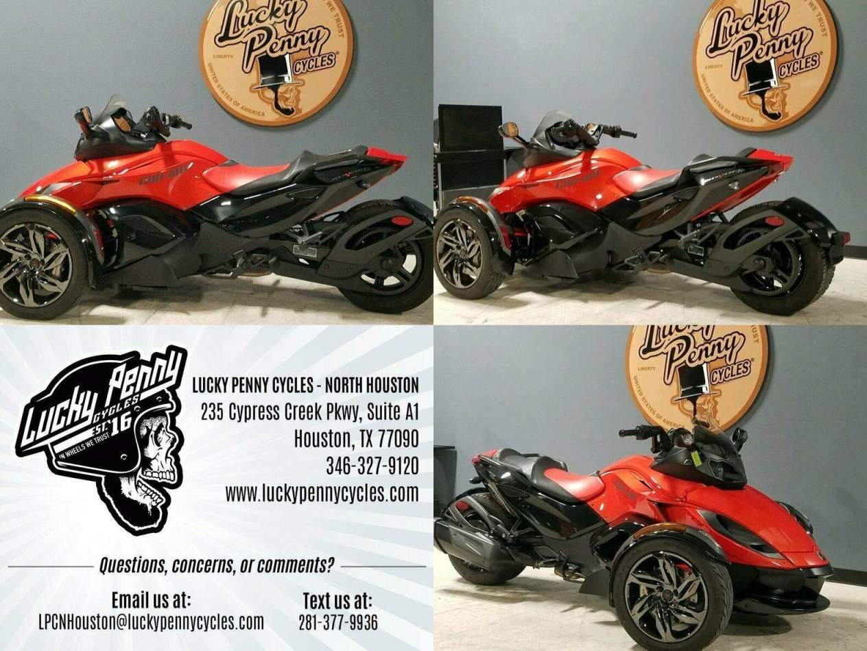 2016 Can-Am Spyder RS-S Orange used for sale
