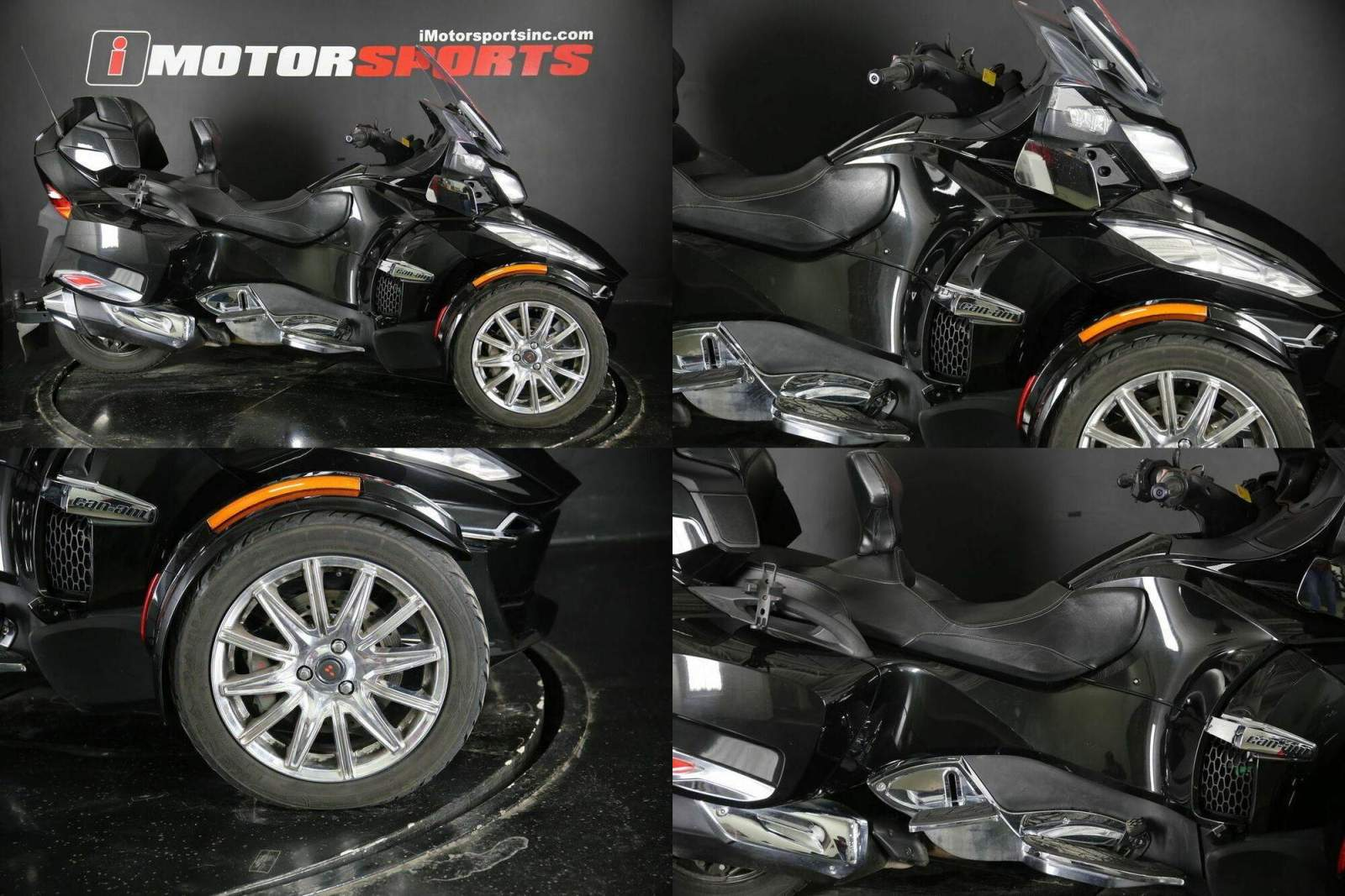 2016 Can-Am Spyder RT Limited 6-Speed Semi-Automatic (SE6) Black used for sale