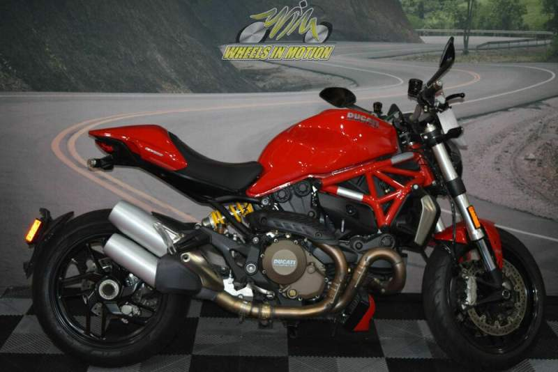 2016 Ducati Monster 1200 Red Red used for sale near me