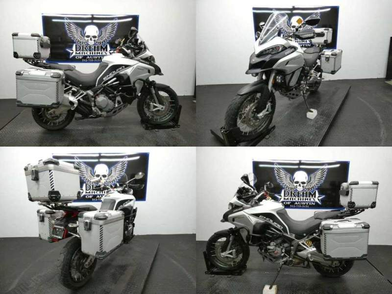 2016 Ducati Multistrada 1200 Enduro Touring Package White used for sale