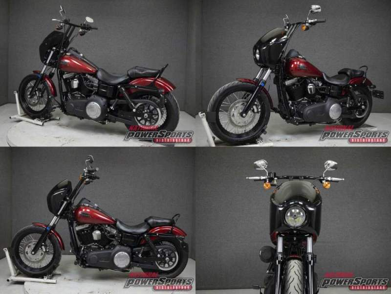 2016 Harley-Davidson Dyna FXDB STREET BOB VELOCITY RED SUNGLO used for sale craigslist