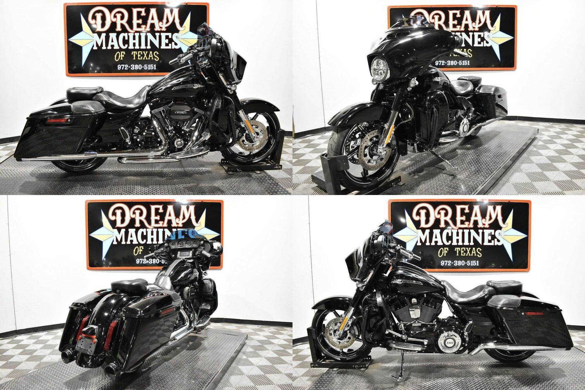 2016 Harley-Davidson FLHXSE - Screamin Eagle Street Glide CVO Carbon Crystal With Phantom Flames used for sale near me