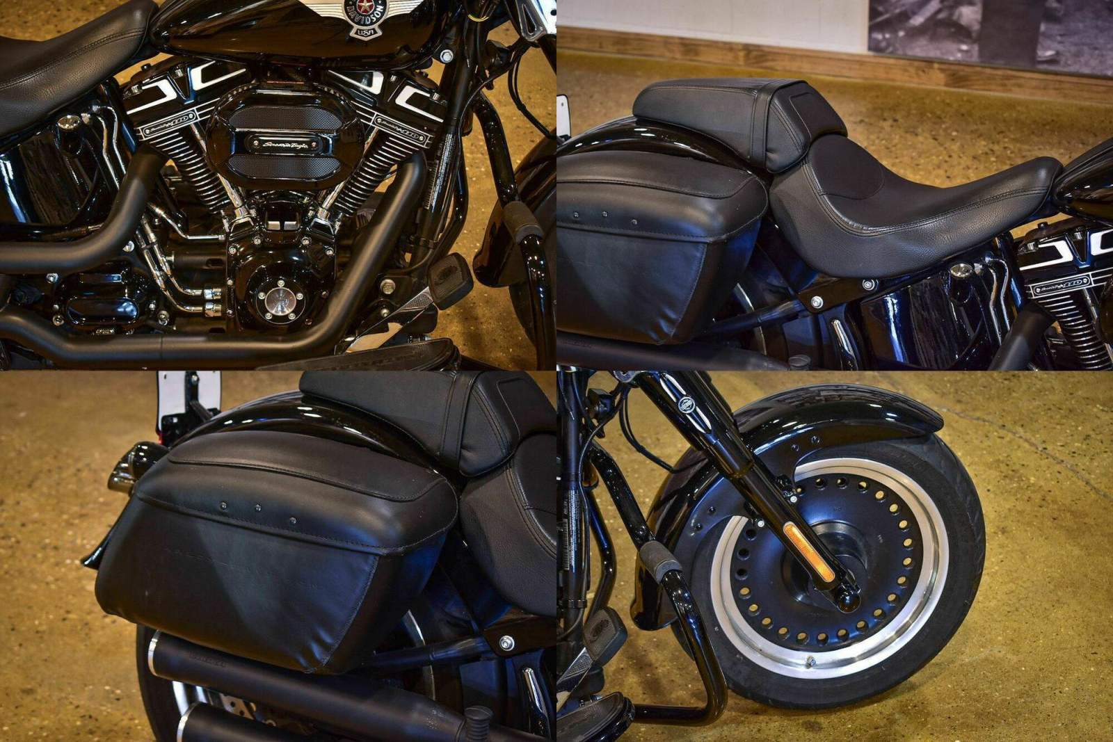 2016 Harley-Davidson FLSTFBS - Fat Boy® S Black used for sale