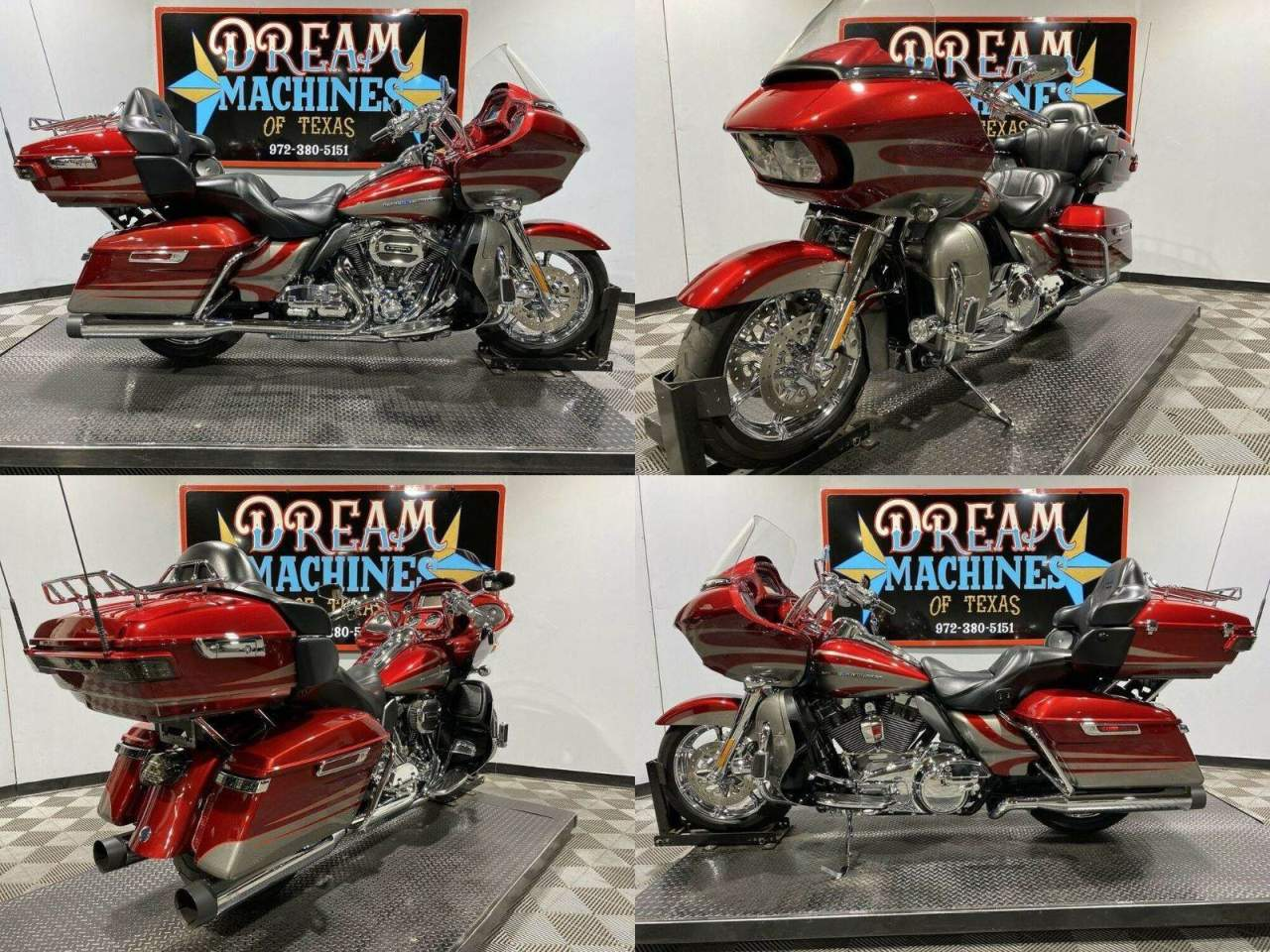 2016 Harley-Davidson FLTRUSE - Screamin Eagle Road Glide Ultra CVO Red used for sale