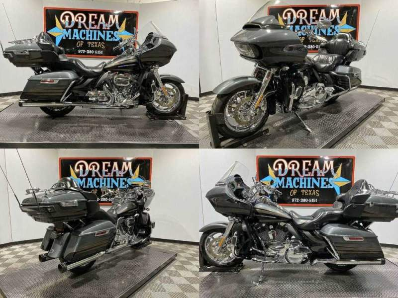 2016 Harley-Davidson FLTRUSE - Screamin Eagle Road Glide Ultra CVO Charcoal Slate/Carbon Dust used for sale craigslist