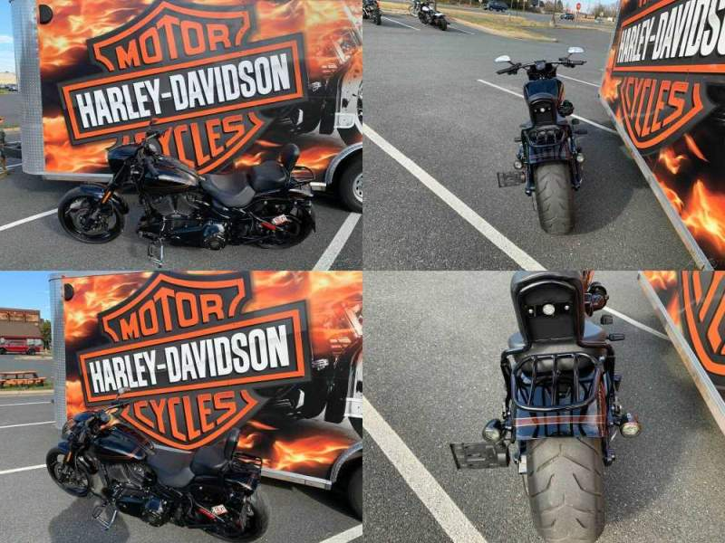 2016 Harley-Davidson Softail CVO Pro Street Breakout Starfire Black / Starfire Black used for sale