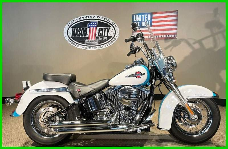 2016 Harley-Davidson Softail Heritage Softail® Classic Crushed Ice & Frosted Teal used for sale