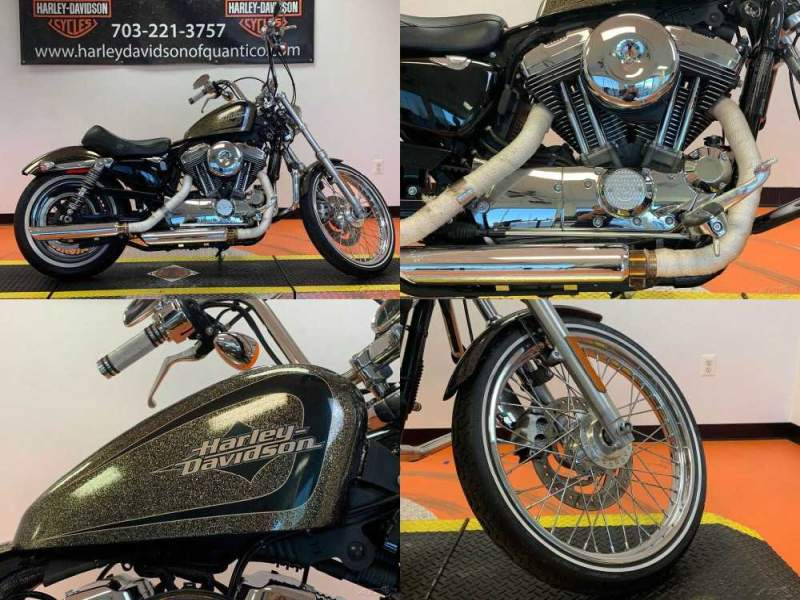 2016 Harley-Davidson Sportster Seventy-Two Hard Candy Black Gold Flake used for sale craigslist