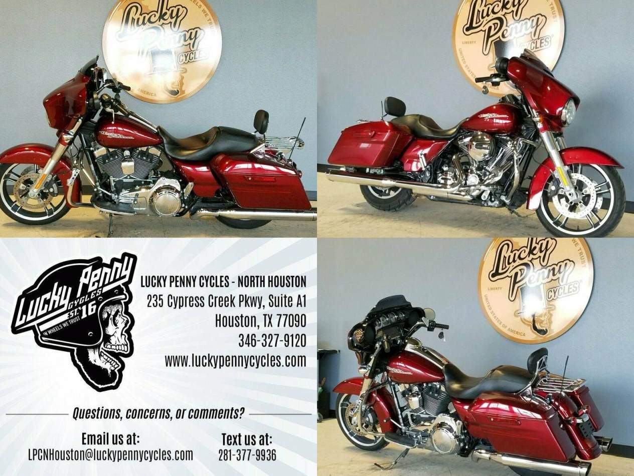 2016 Harley-Davidson Street Glide Special FLHXS Red used for sale