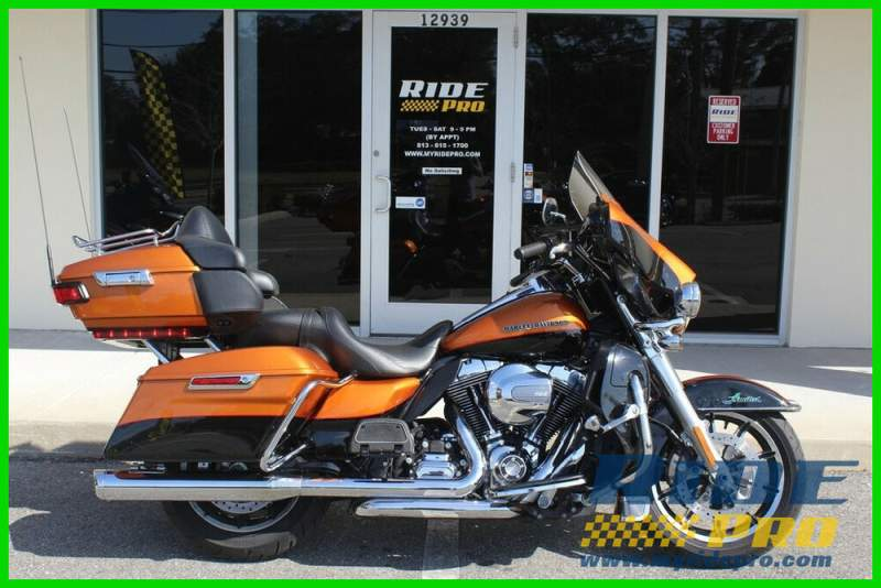 2016 Harley-Davidson Touring Electra Glide® Ultra Limited Amber Whisky used for sale near me