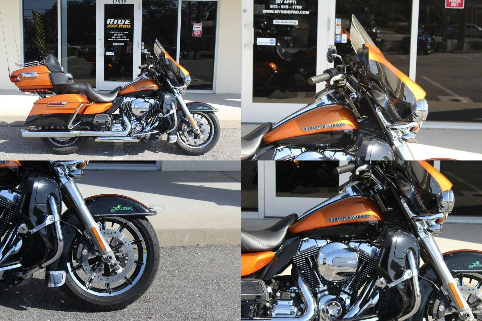 2016 Harley-Davidson Touring Electra Glide® Ultra Limited Amber Whisky used for sale