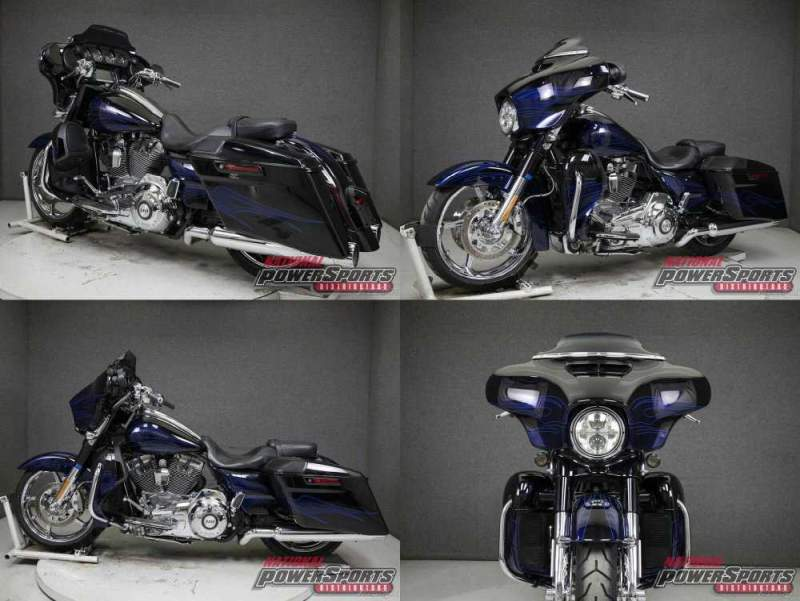 2016 Harley-Davidson Touring BLACK LICORICE/MIDNIGHT COBALT FLAMES used for sale craigslist