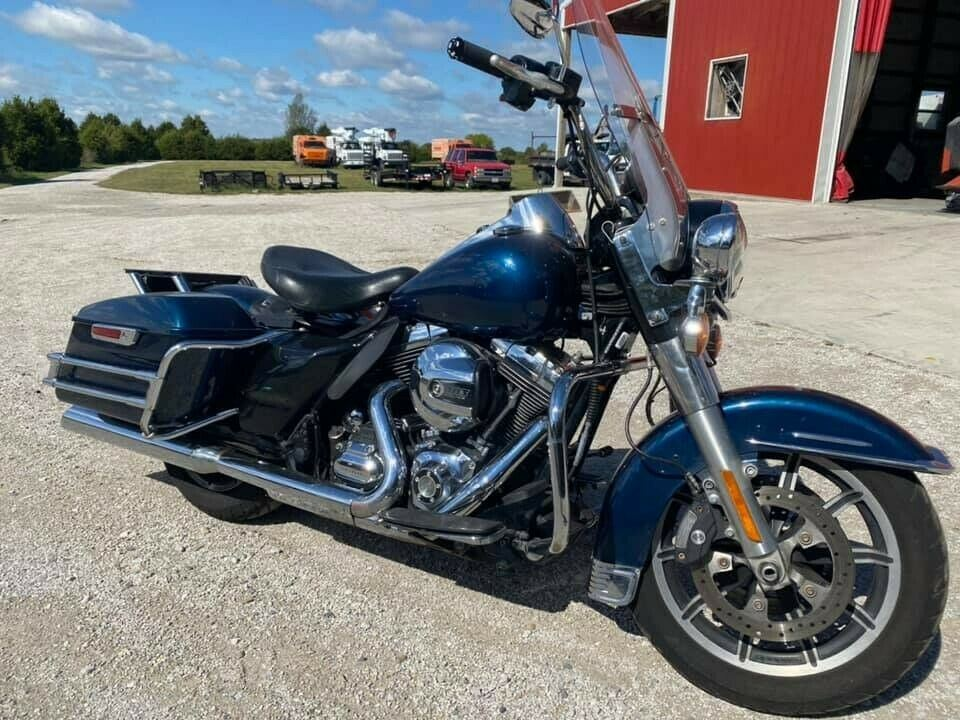 2016 Harley-Davidson Touring Blue used for sale near me