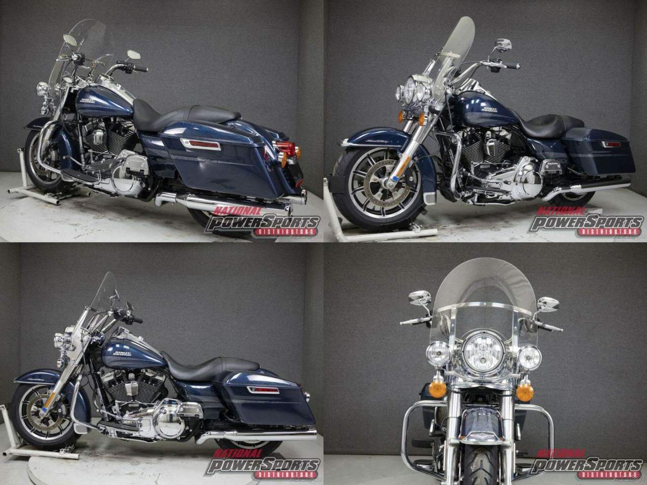 2016 Harley-Davidson Touring FLHR ROAD KING WABS COSMIC BLUE PEARL used for sale