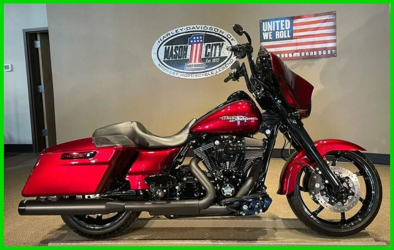 2016 Harley-Davidson Touring Street Glide® Special Mysterious Red Pearl used for sale craigslist