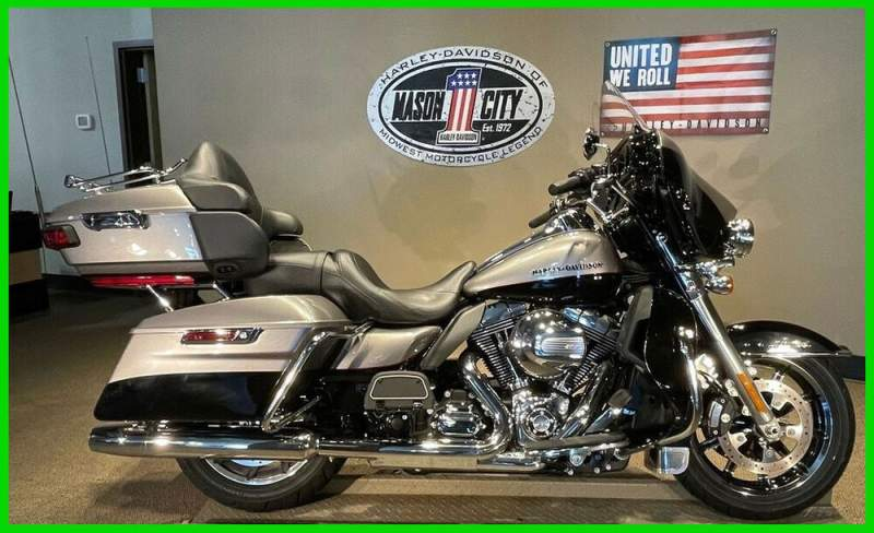 2016 Harley-Davidson Touring Electra Glide® Ultra Limited Billet Silver & Vivid Black used for sale near me