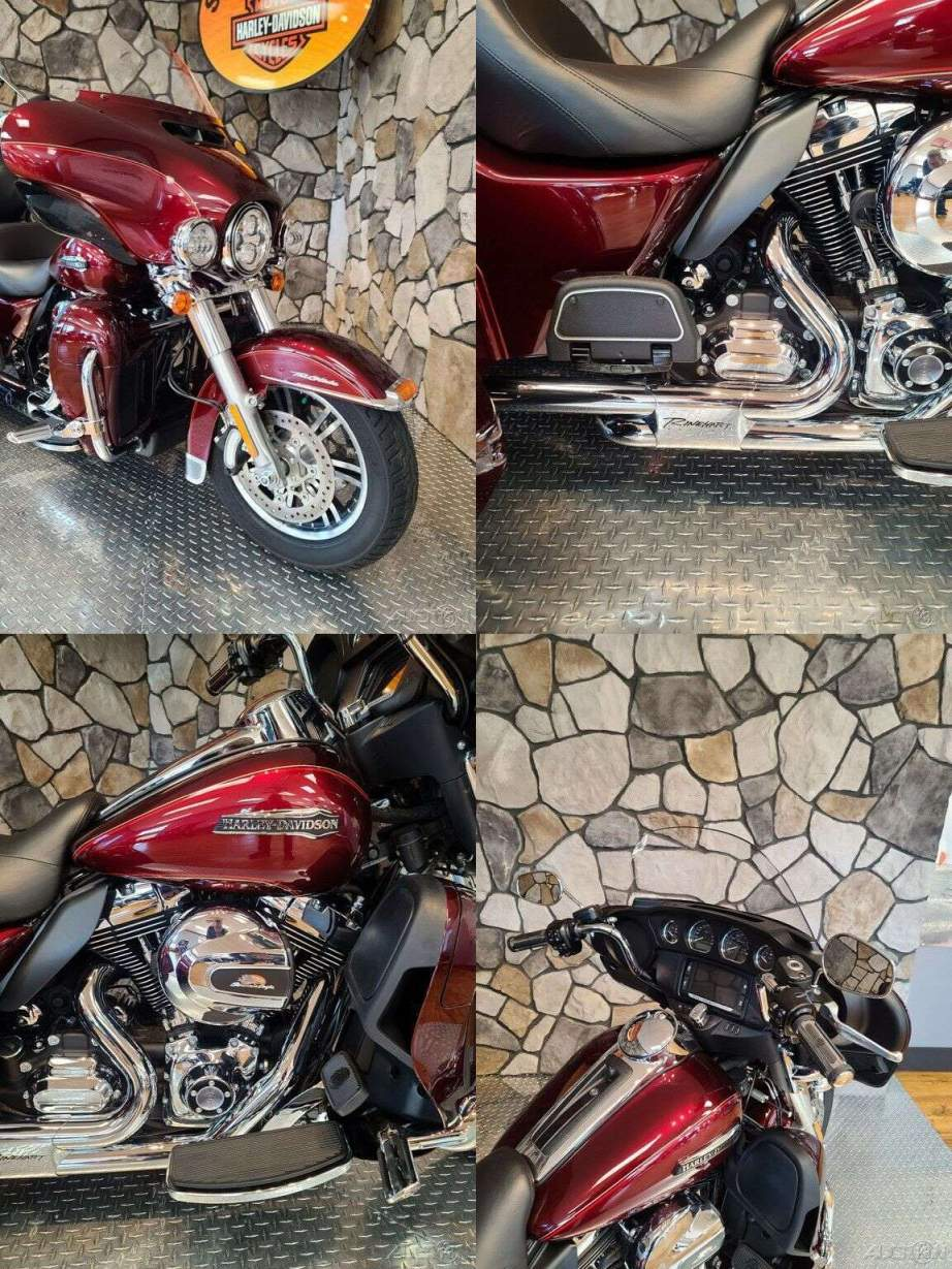 2016 Harley-Davidson Trike Tri Glide Ultra Mysterious Red Sunglo / Velocity Red Sunglo used for sale near me