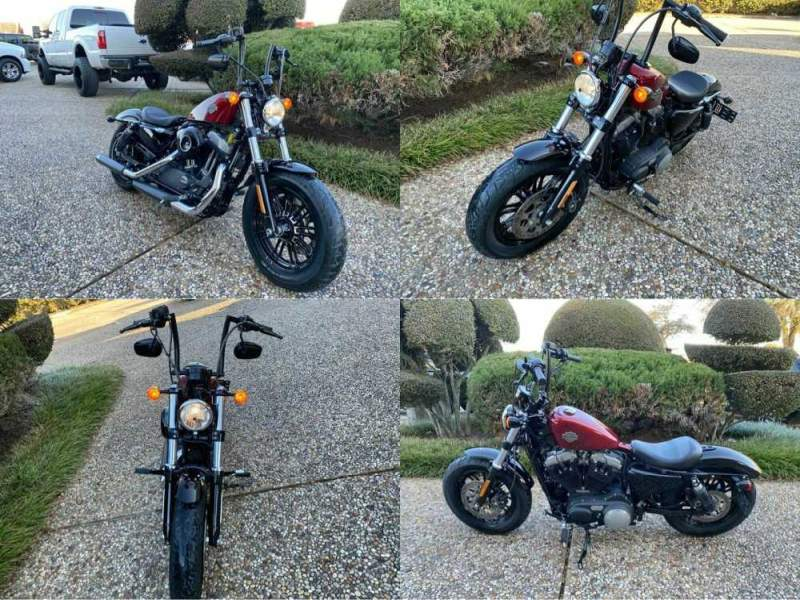 2016 Harley-Davidson XL1200X Sportster Forty-Eight Red used for sale craigslist