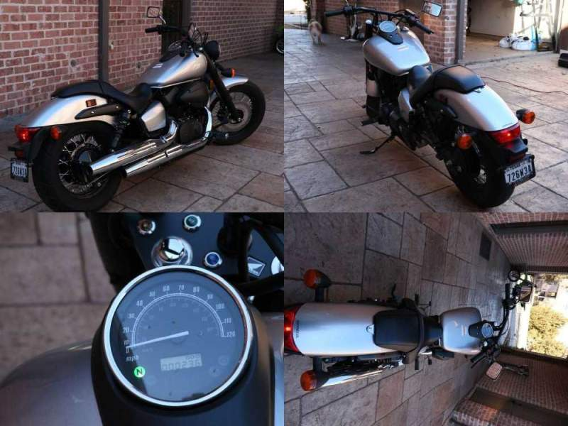 2016 Honda Shadow Silver used for sale near me