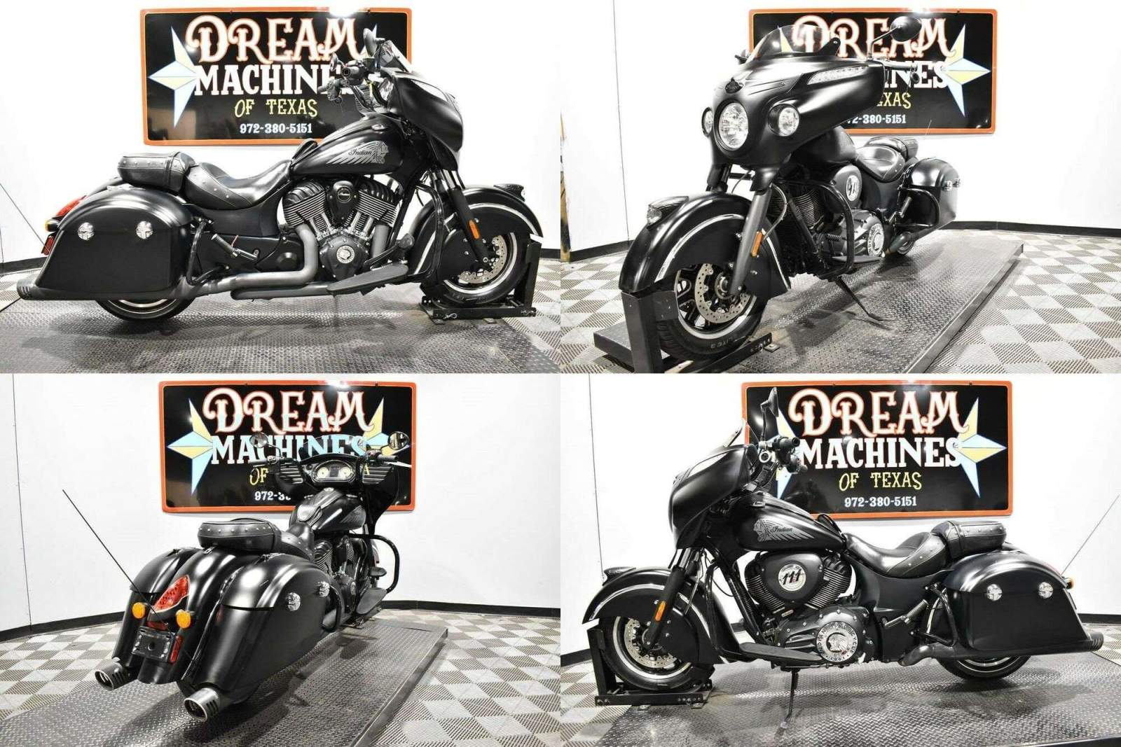 2016 Indian Chieftain Dark Horse Black used for sale near me
