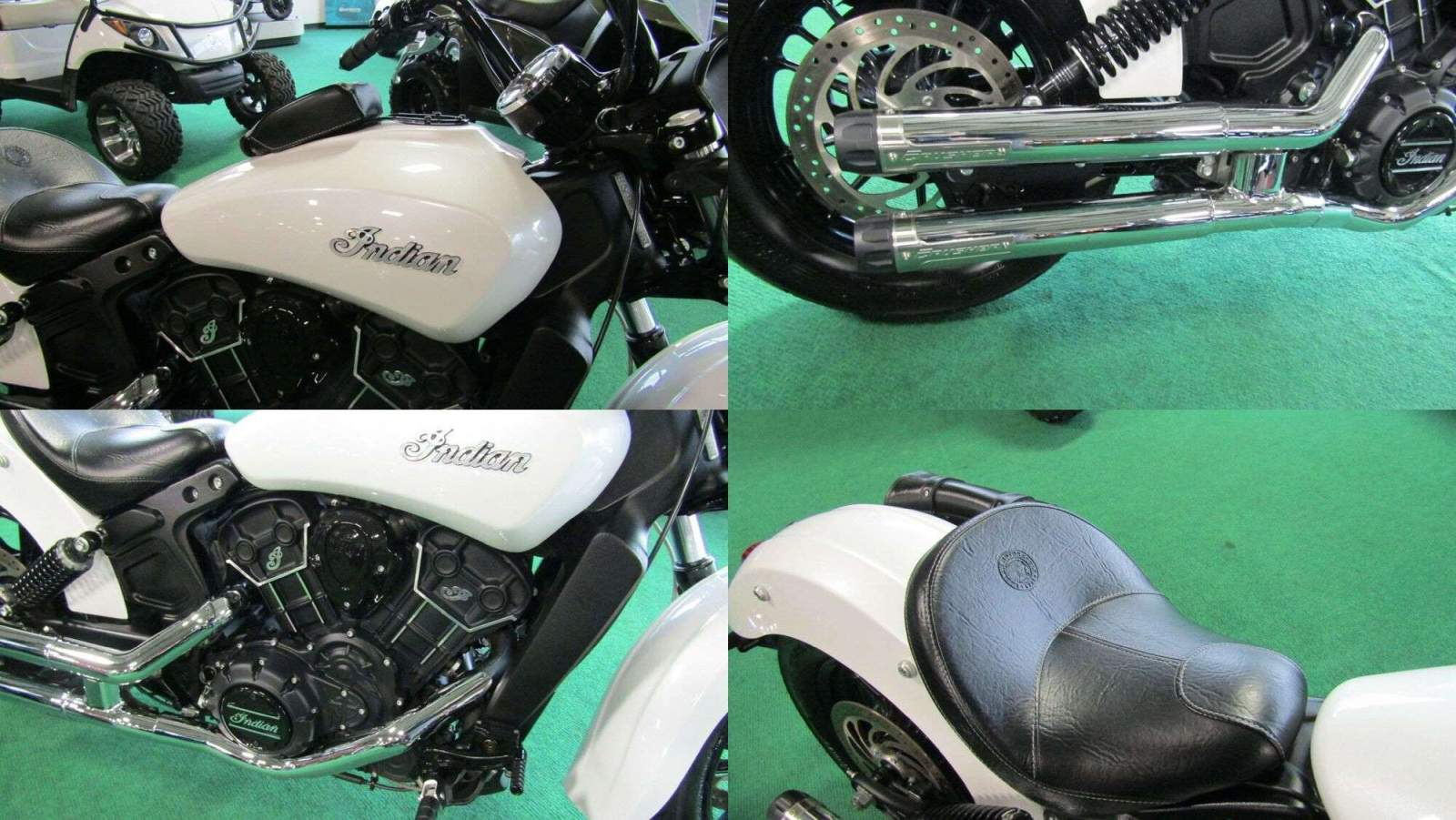 2016 Indian Scout Sixty White used for sale near me
