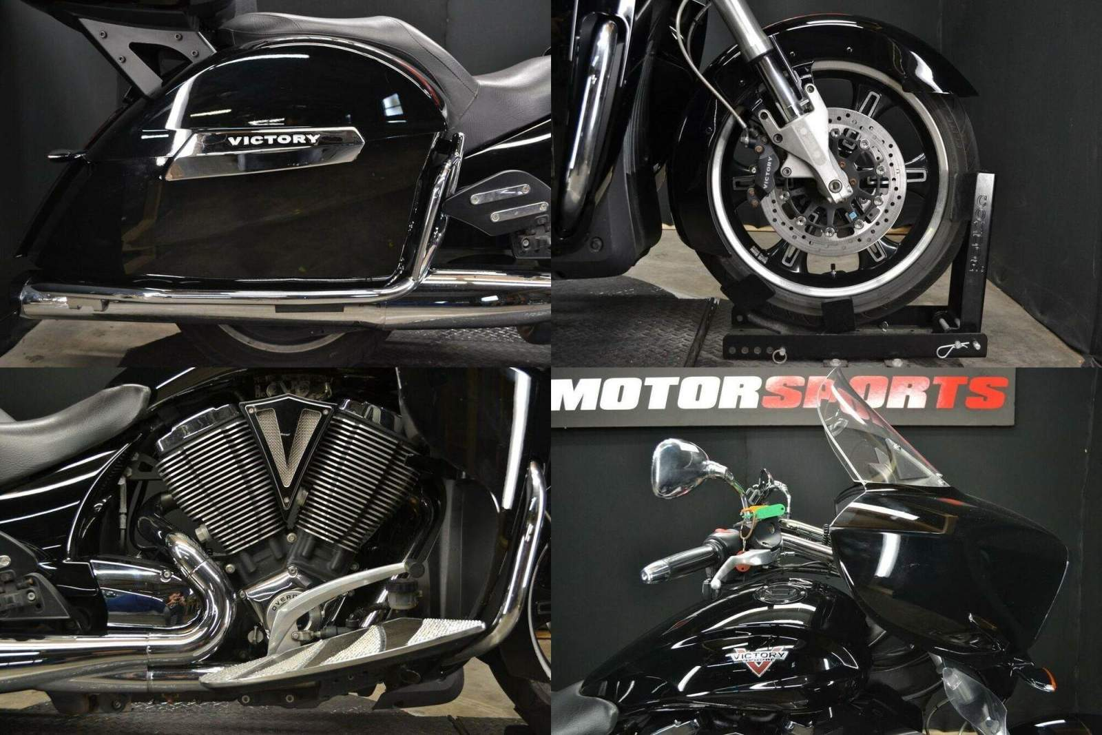 2016 Victory CROSS COUNTRY TOUR Black used for sale