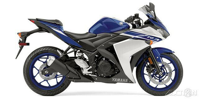 2016 Yamaha YZF R3 Team Yamaha Blue / Matte Silver used for sale