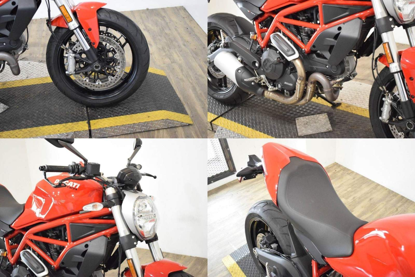 2017 Ducati Monster 797 Red used for sale near me