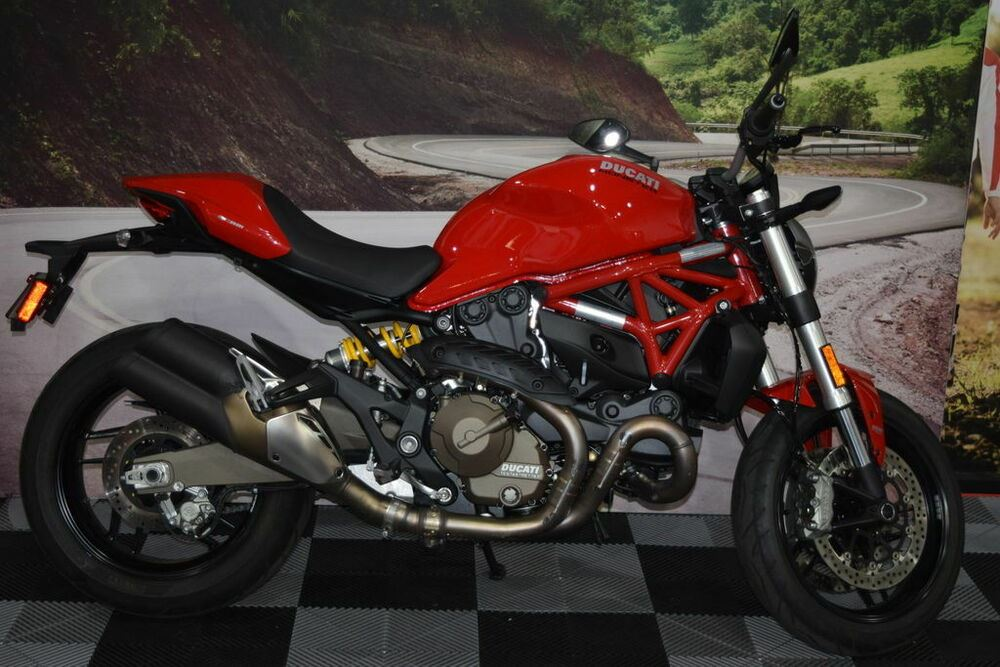 2017 Ducati Monster 821 Red Red used for sale near me