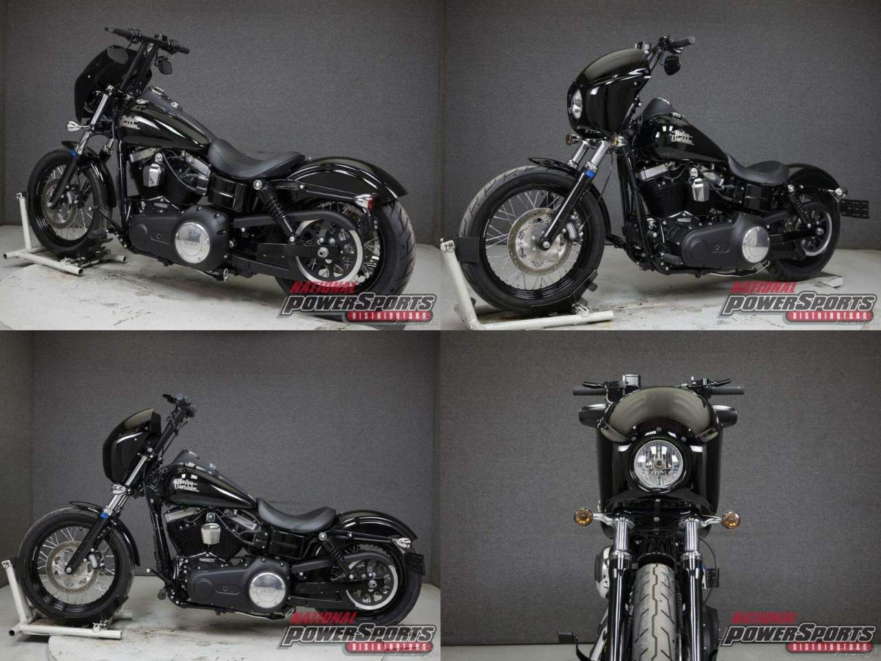 2017 Harley-Davidson Dyna FXDB STREET BOB VIVID BLACK used for sale